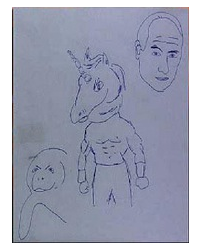 Greg draws the only solution for workplace bullying; a three-pronged attack featuring a Melvin Manatee, Unicorn Jones and screen star Craig T. Nelson.